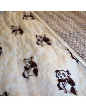 Chocolate Panda quilt
