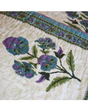 The exquisite embroidery