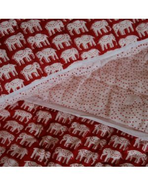 Large Scarlet Elephants and Doves