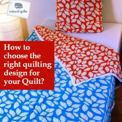 How to choose the right quilting design for your Quilt?