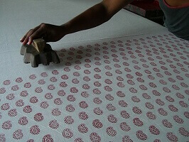 natural quilts block printing